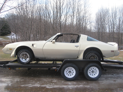 1979 Trans Am T-top Roller FOR SALE