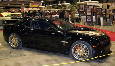 Kevin Morgan Trans Am 3rd Place World of wheels