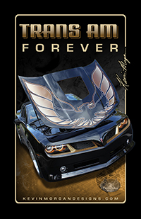 Kevin Morgan 2010 Trans Am Poster